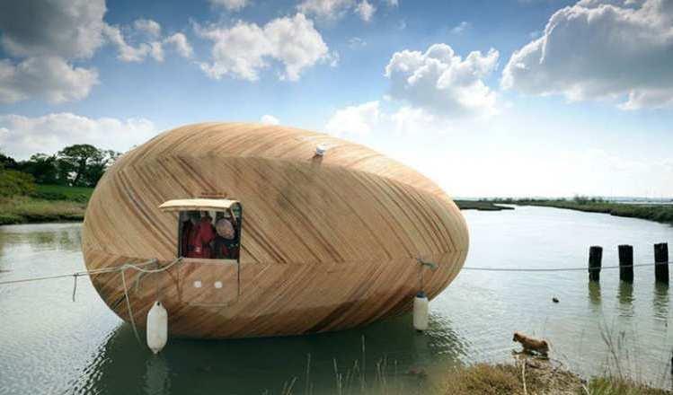 Casa Flutuante Autossustentável