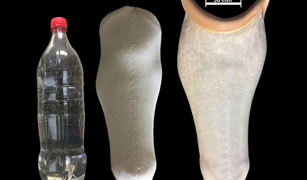 Pesquisadores transformam garrafas PET em membros protéticos